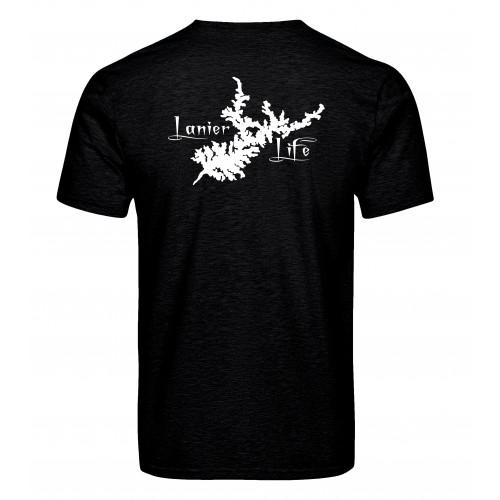 Lanier Life T-Shirt - Heather Black