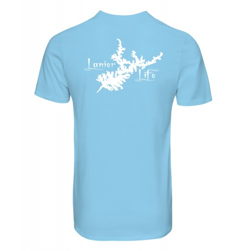 Lanier Life Dri-Fit Performance T-Shirt - Light Blue