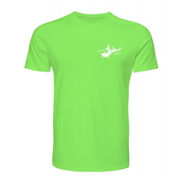 Lanier Life Dri-Fit Performance T-Shirt - Lime Green